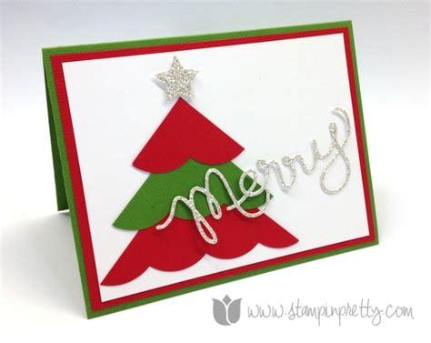 Merry Simple Card Stin Pretty