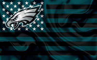 wallpapers philadelphia eagles american football team creative american flag green