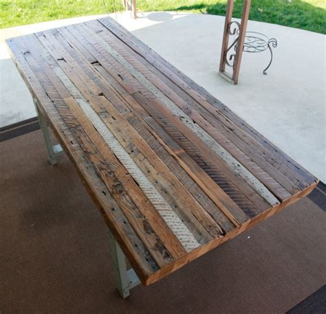 Free Dining Room Table Plans stunning reclaimed picnic table reclaimed wood tables for