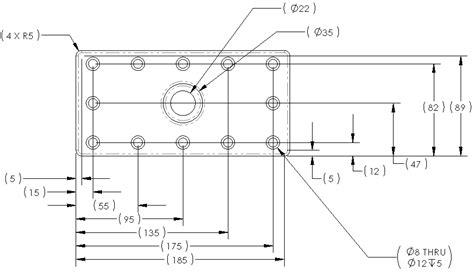 creo drawing pattern dimensions 2012 guida di solidworks quotatura automatica di un disegno