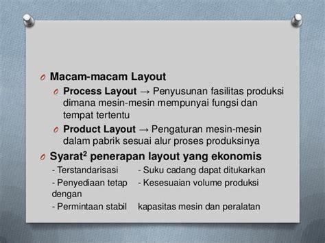 fasilitas layout slide mengelola fasilitas dan bahan