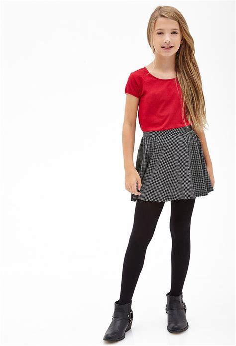 preteen micro polka dot skater skirt lol i m probably too big for this