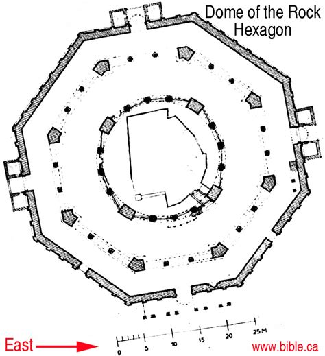 dome of the rock floor plan the temple in jerusalem over the threshing floor which is