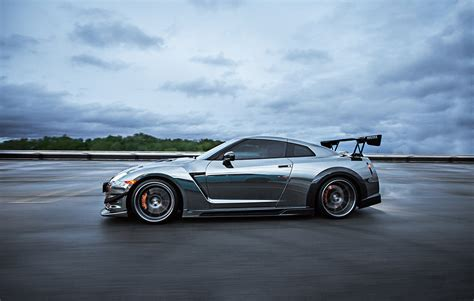 chrome nissan black chrome nissan gtr vehicle customization shop