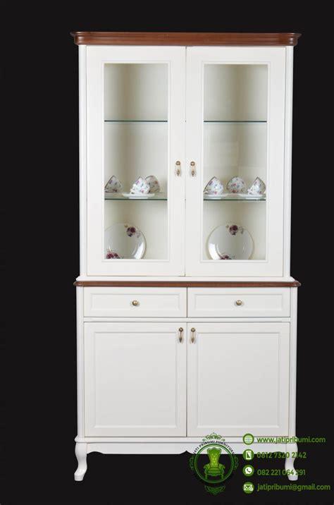 Lemari Dapur Kecil lemari hias minimalis klasik jati pribumi contoh interior