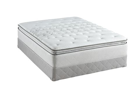pillow top beds sealy posturepedic classic plush euro pillow top mattresses