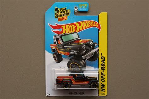 film hot wheels 2014 hot wheels 2014 hw off road jeep scrambler black