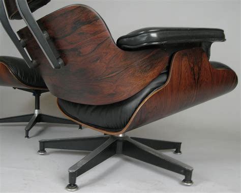 vintage eames chair and ottoman vintage rosewood and leather eames lounge chair and