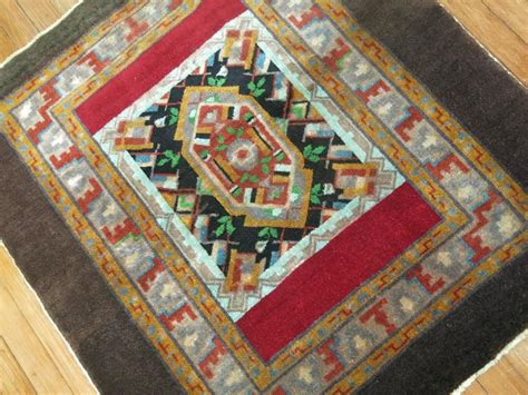 throw rug sizes square size turkish throw rug for sale at 1stdibs