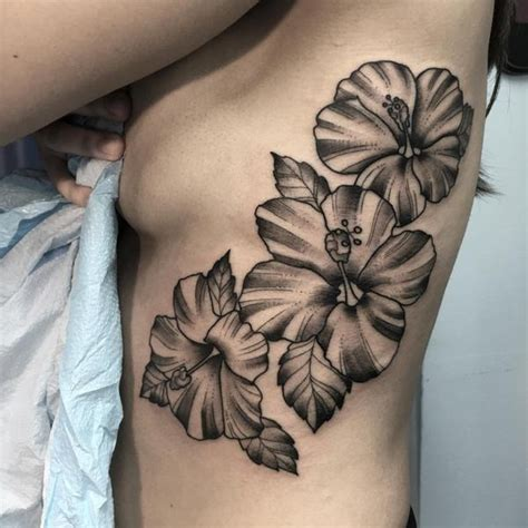tattoos black and white hibiscus flower black and white elaxsir
