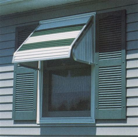 Aluminium Window Awnings by Futureguard Aluminum Window Awning 3500 Custom Canvas Co