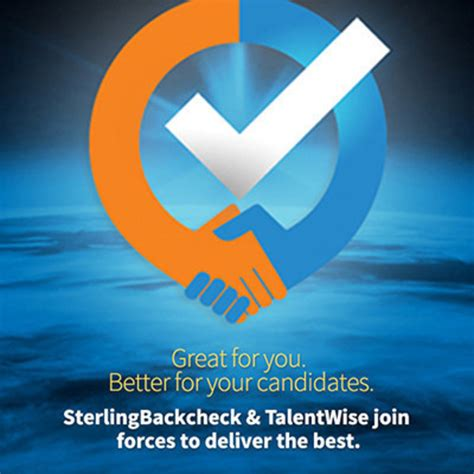Talent Wise Background Check Results Sterlingbackcheck Completes Merger With Talentwise