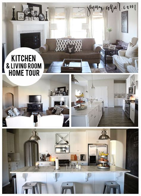 home blogs kitchen living room house tour 187 jenny collier blog