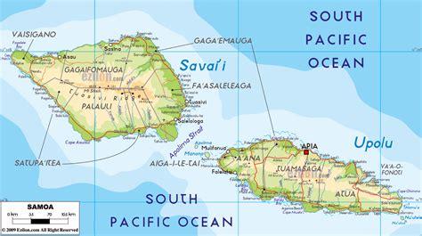 samoa map world maps of samoa map library maps of the world