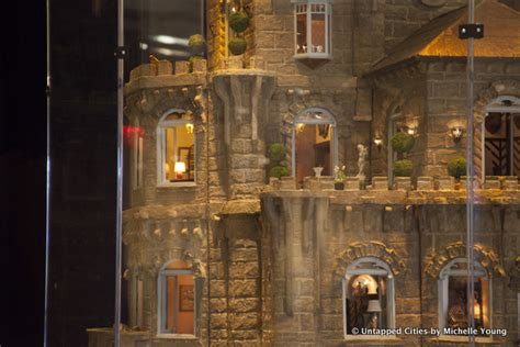 doll house nyc 8 5 million astolat dollhouse castle now on view at columbus circle nyc untapped cities