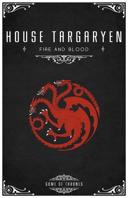 house targaryen of thrones by gateley