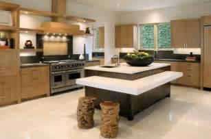 60 kitchen island contemporary kitchen multi level island with stump