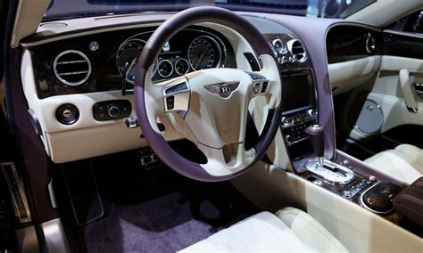 bentley flying spur black interior bentley flying spur pictures images page 7
