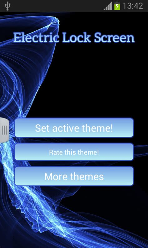 themes lock free download electric lock screen free android theme download appraw