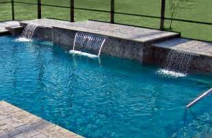 Modern Home Design Gallery cascade waterfalls blue haven custom swimming pool and