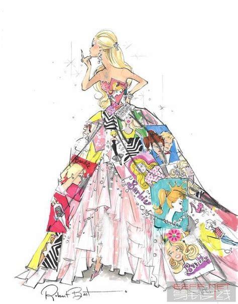 Le Fashionistacom Designer Weekly Pink by 服装设计手绘图 服装设计效果图 手绘插画 手绘人物jpg 图片编号 10059878 设计宝