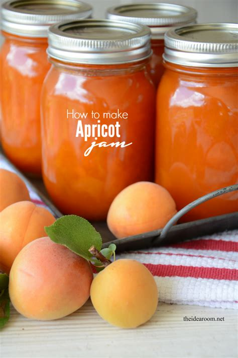 apricot jam and printable jam labels the idea room