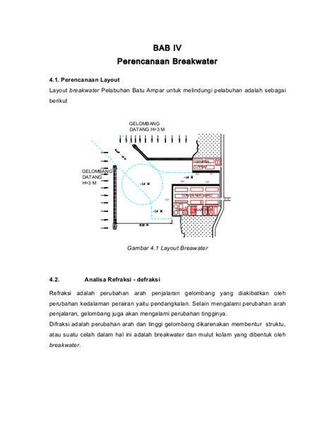 perencanaan layout pelabuhan perencanaan breakwater