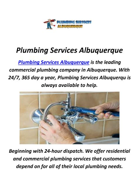 Plumbing Albuquerque Nm by Plumbing Drain Cleaning Services In Albuquerque Nm