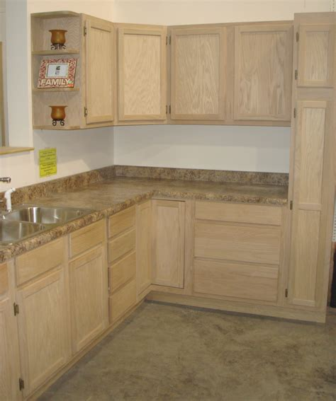 unfinished wood kitchen cabinets home interior design