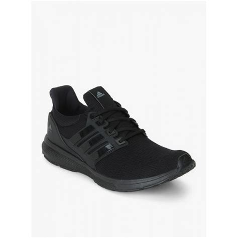 buy adidas jerzo m black synthetic running shoes looksgud in