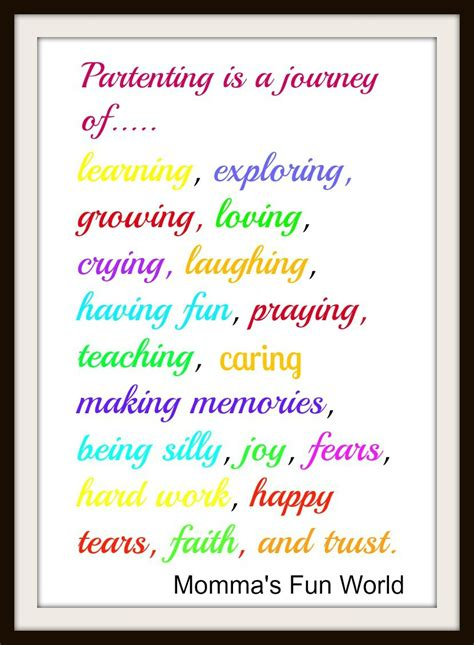 printable parenting quotes momma s fun world parenting is a journey