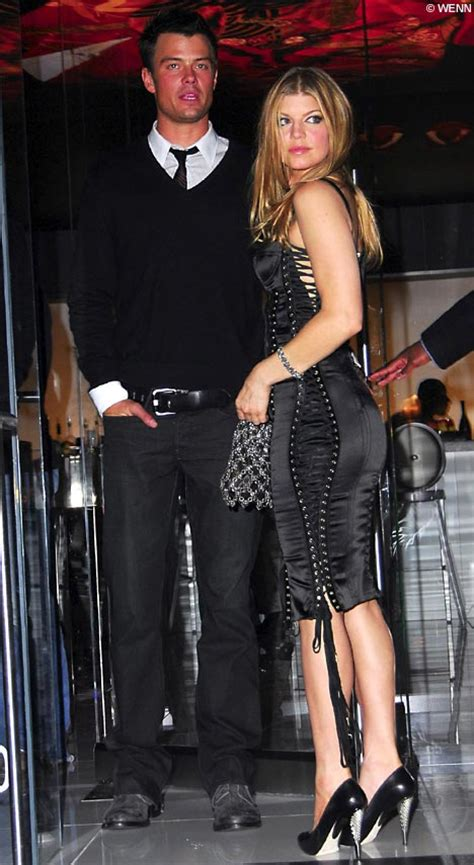 Black Eyed Peas Fergie Engaged To Josh Duhamel Reps Confirm by Black Eyed Peas Singer Fergie Engaged To Transformers