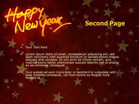 theme powerpoint new year happy new year theme powerpoint template backgrounds