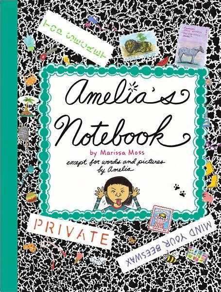 libro spiderwicks notebook for fantastical amelia s notebook by marissa moss hardcover barnes noble 174