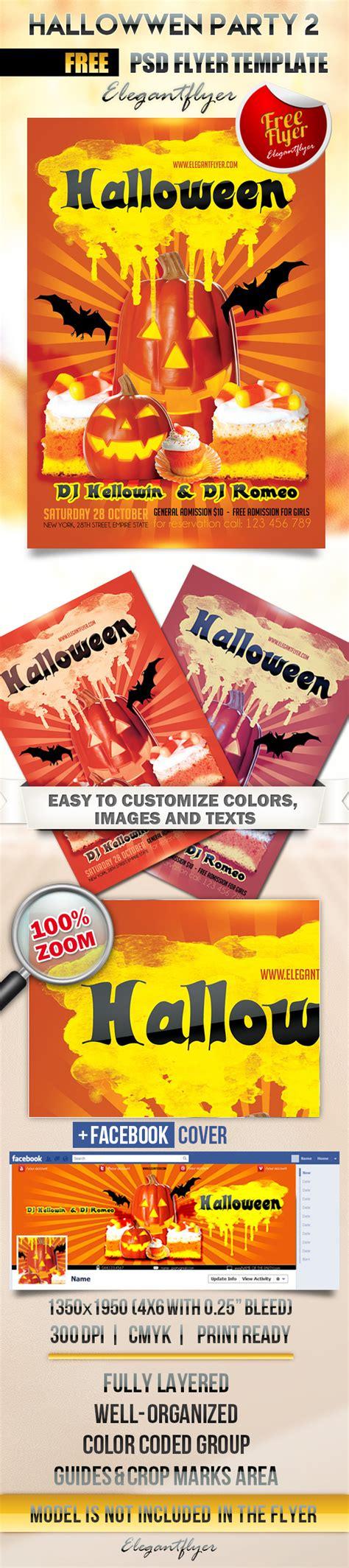 20 Free Psd Halloween Flyer Templates Free Psd Templates Flyer Template Psd 2
