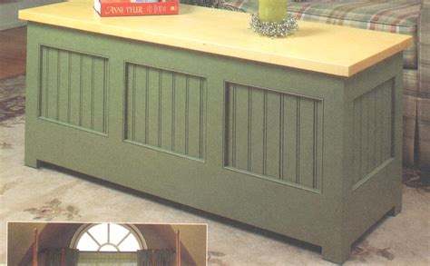 pdf plans building plans storage bench diy coffee
