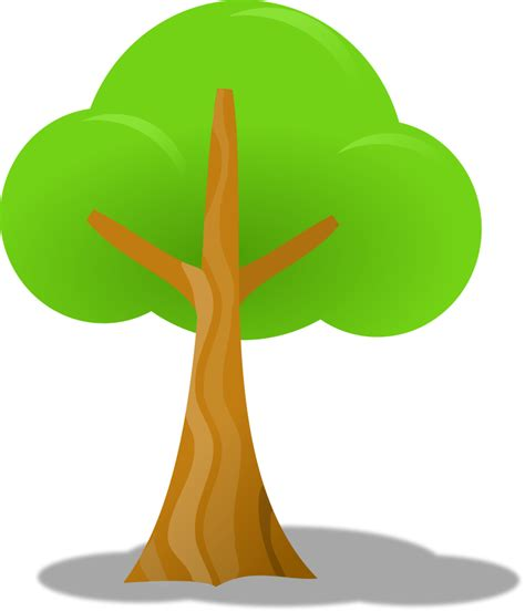 clip arts tree trunk outline cliparts co
