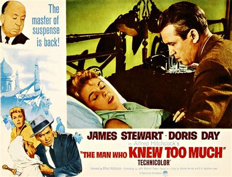 The Who Knew Much doris day stewart in alfred hitchcock s the