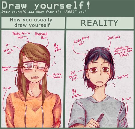 Meme Drawings - draw yourself meme by naokiiii on deviantart