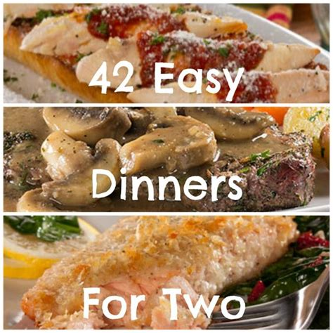 easy dinner recipes for two 42 easy dinner recipes for two cooking for two then try