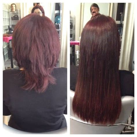 18 inch hair extensions before and after before and after 18 inch fusion hair extensions yelp