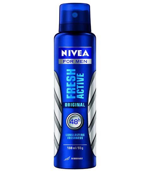 Nivea Fresh Active Spray Deodorant 150ml nivea fresh active original deodorant 150ml buy