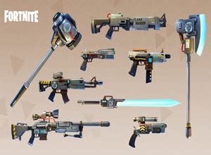 major fortnite weapons fortnite battle royale mobile
