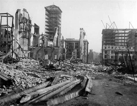 earthquake of 1906 san francisco earthquake in 1906 three rare films reveal