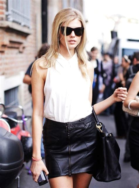 Check Out Bazaar Elite The Younger To 140 Year Harpers Bazaar by Keep It Professional 7 Ways To Wear A Leather Skirt