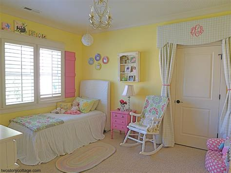 girls bedroom yellow an eclectic sweet big girl bedroom lacey s room part i