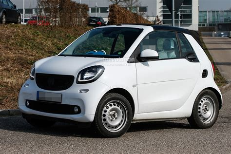 smart car 2016 spyshots undisguised 2016 smart fortwo cabrio spied in