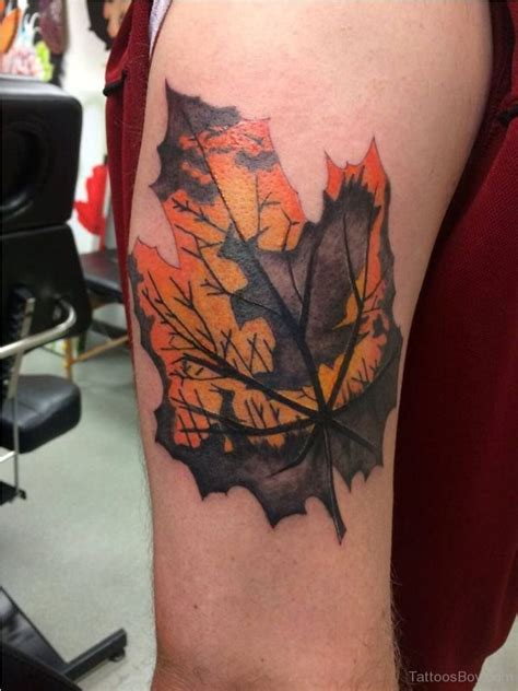 leaf design tattoos leaf tattoos designs pictures page 9