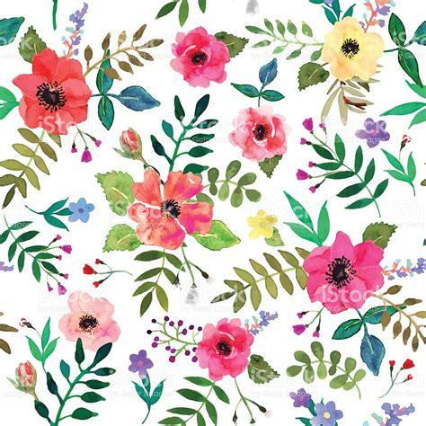 imagenes sin fondo de flores sin costura flores fondo aislado rojo y flores acuarela