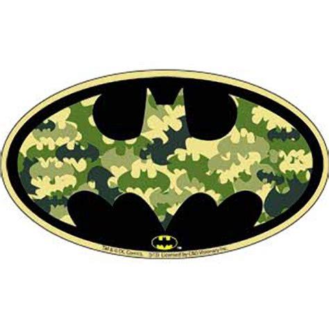 Camouflage Home Decor by Batman Camo Bat Logo Sticker